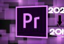 Hướng dẫn mở project trong Premiere Pro phiên bản thấp hơn